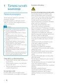 Philips GoGEAR Baladeur MP4 - Mode d'emploi - FIN - Page 4