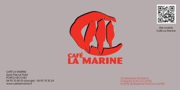 côté poissons - cafe de la marine