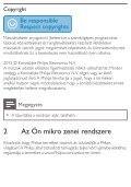 Philips Microchaîne - Mode d'emploi - HUN - Page 5
