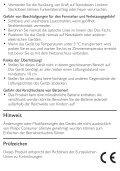 Philips Microchaîne - Mode d'emploi - DEU - Page 3