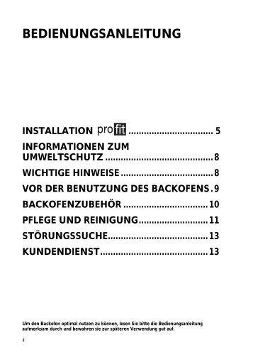 KitchenAid 80123002 - Oven - 80123002 - Oven DE (857921101500) Istruzioni per l'Uso