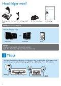Philips Streamium Station d'accueil - Guide de mise en route - DAN - Page 2