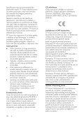 Philips 3100 series Téléviseur LED ultra-plat - Mode d'emploi - SRP - Page 6