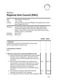 Please enter name here - Arts Council England