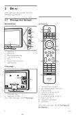 Philips Aurea TV LCD - Mode d'emploi - DAN - Page 6