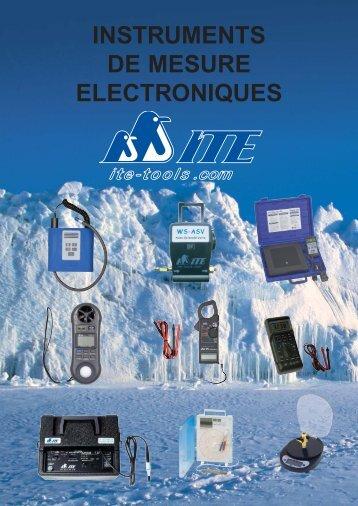 INSTRUMENTS DE MESURE ELECTRONIQUES - ITE-Tools.com