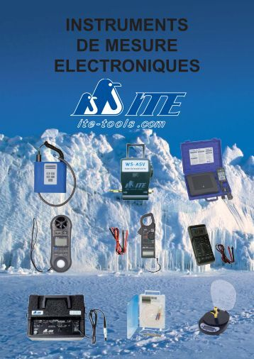 INSTRUMENTS DE MESURE ELECTRONIQUES - ITE-Tools.com