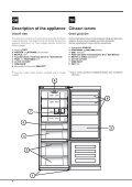KitchenAid E2BYH 19323 F O3 - Fridge/freezer combination - E2BYH 19323 F O3 - Fridge/freezer combination EN (F088287) Istruzioni per l'Uso - Page 6
