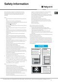 KitchenAid JLE61P - Cooker - JLE61P - Cooker EN (F084154) Istruzioni per l'Uso - Page 5