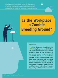 Is the Workplace a Zombie Breeding Ground?