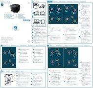 Philips Enceinte Multiroom sans fil izzy - Guide de mise en route - ENG