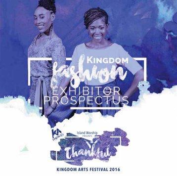 KA 2016 Fashion Exhibitor Prospectus