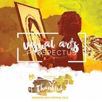 KA 2016 Visual Arts Prospectus