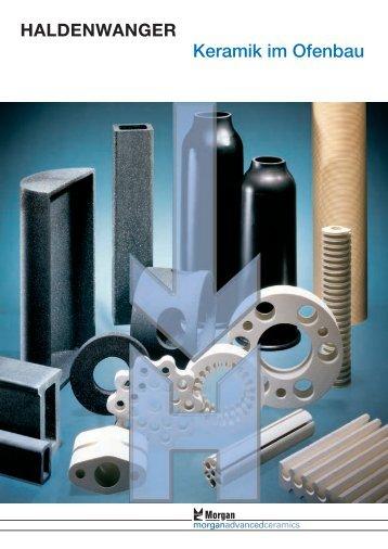 Prospekt Keramik Ofenbau - Buntenkoetter Technische Keramik