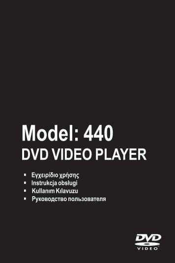 Philips Magnavox MDV440/12 - Mode d'emploi - ELL