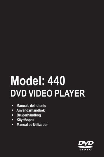 Philips Magnavox MDV440/12 - Mode d'emploi - ITA