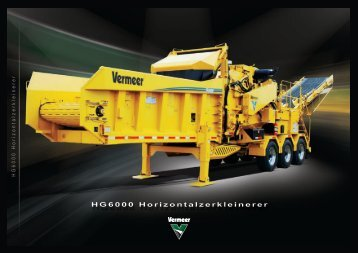 HG6000 Horizontalzerkleinerer