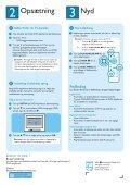 Philips Lecteur de DVD avec USB - Guide de mise en route - DAN - Page 2