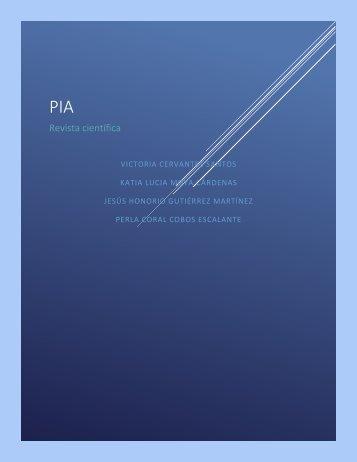 Revista quimica PIA