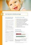 Produktbroschüre Stop & Go Kindervorsorge - Seite 2