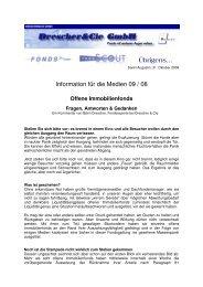 Offene Immobilienfonds - Finanzpartner.de