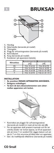 KitchenAid S 170 - Freezer - S 170 - Freezer SV (850794371320) Istruzioni per l'Uso