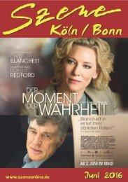 Szene Köln-Bonn, Ausgabe 06.2016