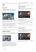 Philips 9000 series Téléviseur LED Smart TV - Mode d'emploi - TUR - Page 3