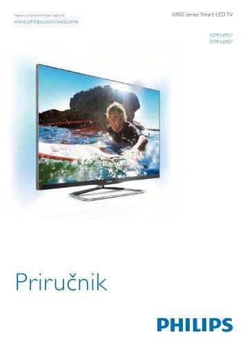 Philips 6900 series Téléviseur LED Smart TV - Mode d'emploi - SRP