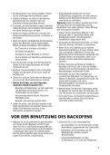 KitchenAid 500 947 65 - Oven - 500 947 65 - Oven DE (857915501510) Istruzioni per l'Uso - Page 6