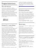 Philips 8700 series Téléviseur LED 4K incurvé avec Android TV™ - Mode d'emploi - HRV - Page 4