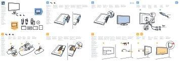 Philips Cinema 21:9 Téléviseur LED - Guide de mise en route - RON