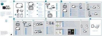 Philips Haut-parleur Bluetooth WeCall - Guide de mise en route - KAZ