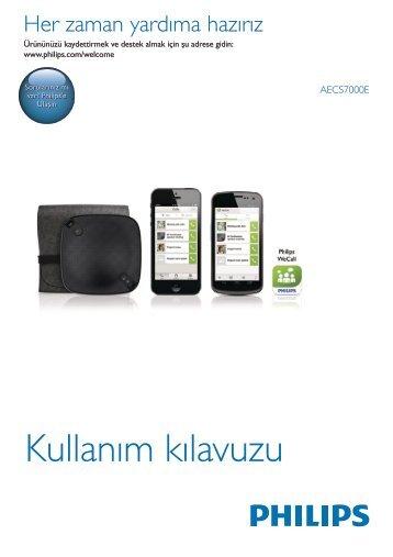Philips Haut-parleur Bluetooth WeCall - Mode d'emploi - TUR
