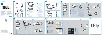 Philips Haut-parleur Bluetooth WeCall - Guide de mise en route - SLK