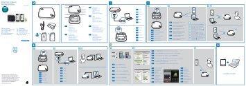 Philips Haut-parleur Bluetooth WeCall - Guide de mise en route - ITA