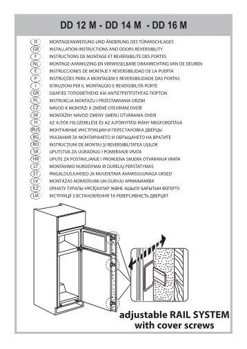 KitchenAid T 16 A1 D/HA - Fridge/freezer combination - T 16 A1 D/HA - Fridge/freezer combination KK (853903401500) Installazione