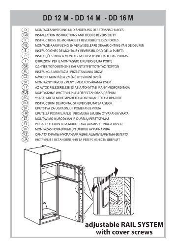 KitchenAid T 16 A1 D/HA.2 - Fridge/freezer combination - T 16 A1 D/HA.2 - Fridge/freezer combination RU (853903401530) Installazione