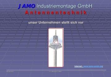 JAMO Industriemontage GmbH A n t e n n e n t e c h n i k