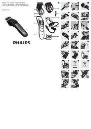Philips Hairclipper series 3000 Tondeuse à cheveux - Mode d'emploi - CFR