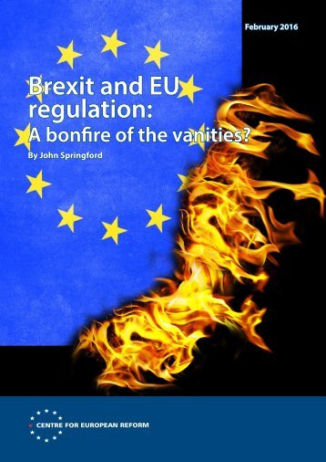 Brexit and EU regulation