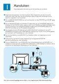 Philips Lecteur de DVD/Magnétoscope - Guide de mise en route - NLD - Page 2