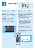 Philips Lecteur de DVD/Magnétoscope - Guide de mise en route - NLD - Page 3