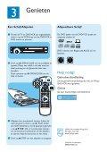 Philips Lecteur de DVD/Magnétoscope - Guide de mise en route - NLD - Page 4