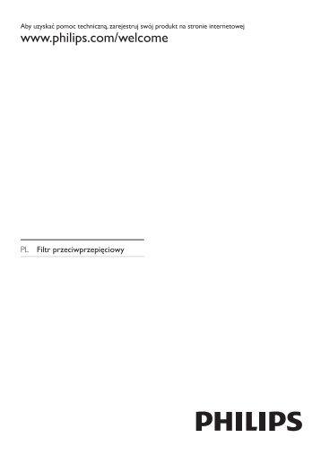 Philips Protection contre les surtensions - Mode d'emploi - POL