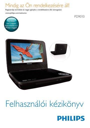 Philips Lecteur DVD portable - Mode d'emploi - HUN