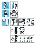 Philips Shaver series 9000 Rasoir électrique rasage à sec ou sous l'eau - Mode d'emploi - MSA - Page 6