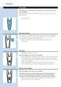 Philips Shaver series 9000 Rasoir électrique rasage à sec ou sous l'eau - Mode d'emploi - POL - Page 6
