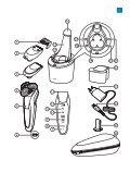Philips Shaver series 9000 Rasoir électrique rasage à sec ou sous l'eau - Mode d'emploi - RON - Page 2