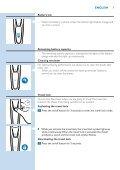 Philips Shaver series 9000 Rasoir électrique rasage à sec ou sous l'eau - Mode d'emploi - RON - Page 7